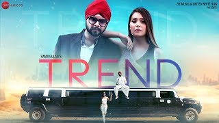 Trend Official Music | Ramji Gulati | Sara Khan