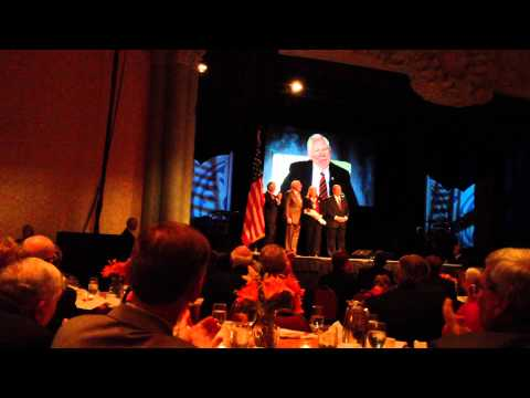 Vice Adm. Dan McCarthy - The Silver Buffalo 2012 (BSA)