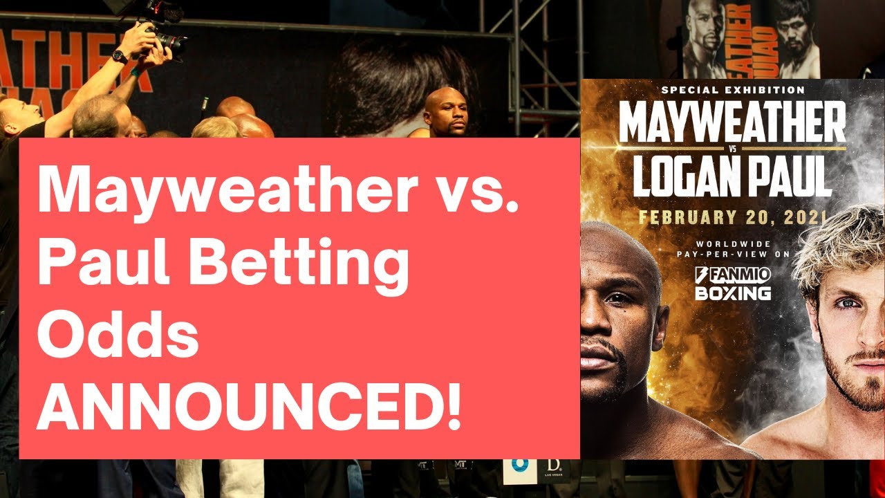 New Logan Paul Vs. Floyd Mayweather Odds Have Been Released ...
