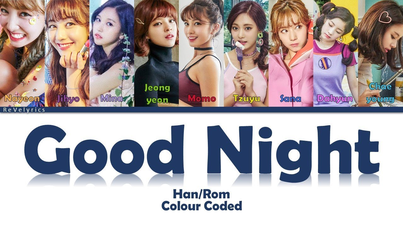 TWICE – Jaljayo Good Night
