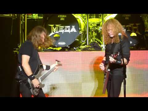 """Dave Mentions About Crowd Sitting Down & Holy Wars"" Megadeth@MSG New York 9/16/17"