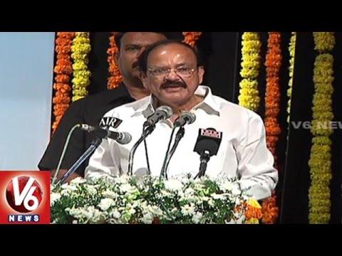 Venkaiah Naidu Speech | Inauguration Of Telangana Postal Circle  | Hyderabad | V6 News