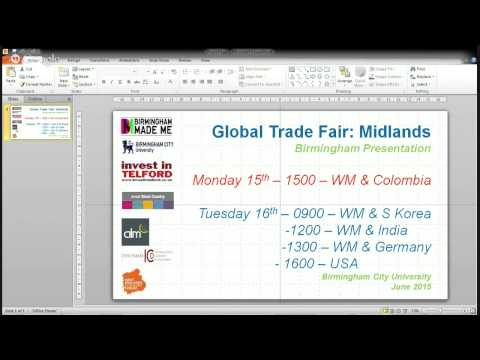 Global Trade Fair Part 2