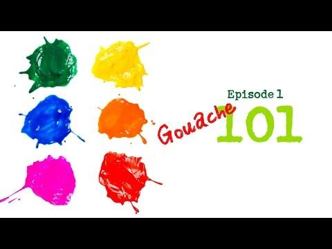 101 Episode 1 - Gouache 101 for beginners
