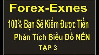 Forex-Exnes TẬP 3, chiến thắng  100%, phân tích biểu đồ NẾN, dấu hiệu đổi chiều của NẾN,trên MT4