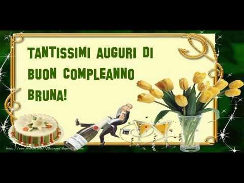 Tanti Auguri di Buon Compleanno Bruna!   YouTube