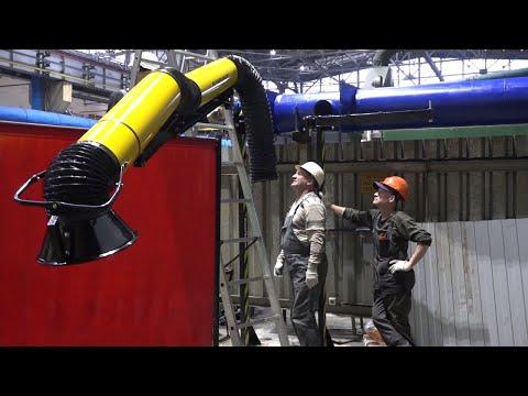 Будни ВСМПО. Реконструкция вытяжной вентиляции в 35-м цехе