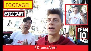 Team 10 vs RiceGum IRL! #DramaAlert KSI Deji vs W2S - FaZe Banks goes OFF! on Christian Burns!