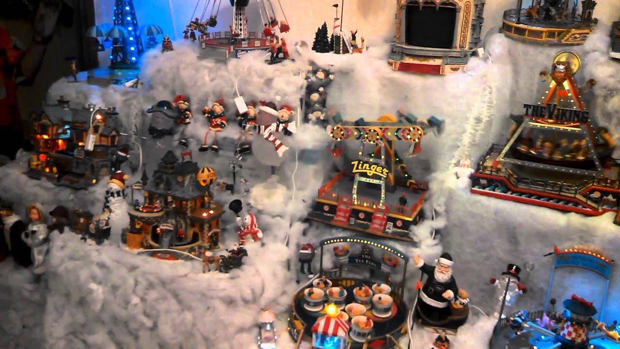 d64f51dfeca Villa navideña en miniatura. - YouTube
