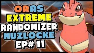 Team Aqua Has DELTA FERALIGATR?? -  Pokemon Alpha Sapphire HD Extreme Randomizer Nuzlocke Episode 11