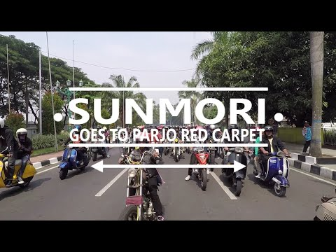 SUNMORI goes to PARJO RED KARPET with komunitas MOTOR CUSTOM TANGERANG petcaahhhhh #MOTOVLOG 34