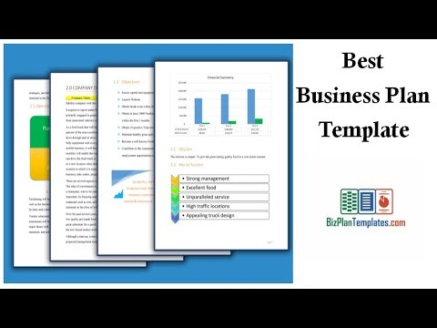 best business plan template youtube