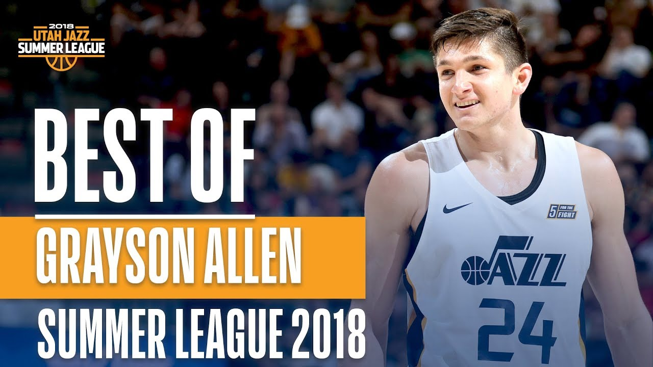 cheap for discount 2d1e3 35bbe Best of Grayson Allen From The 2018 NBA Utah Summer League