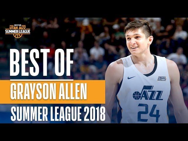 Best of Grayson Allen From The 2018 NBA Utah Summer League