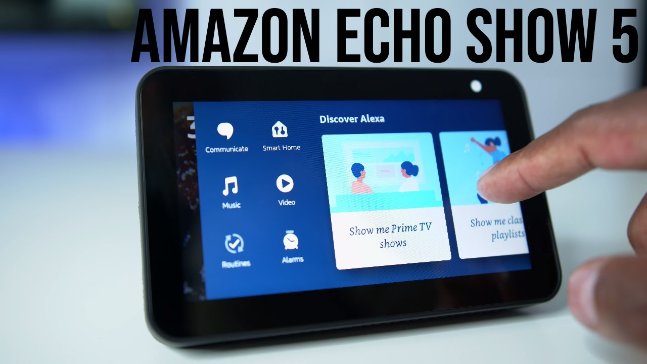 Amazon Echo Show 5 Complete Setup Guide