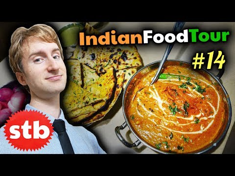BUTTER CHICKEN in INDIA // North Indian Food Tour #14 in New Delhi