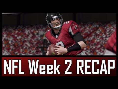 NFL - Week 2 Recap & Results (2012-2013)