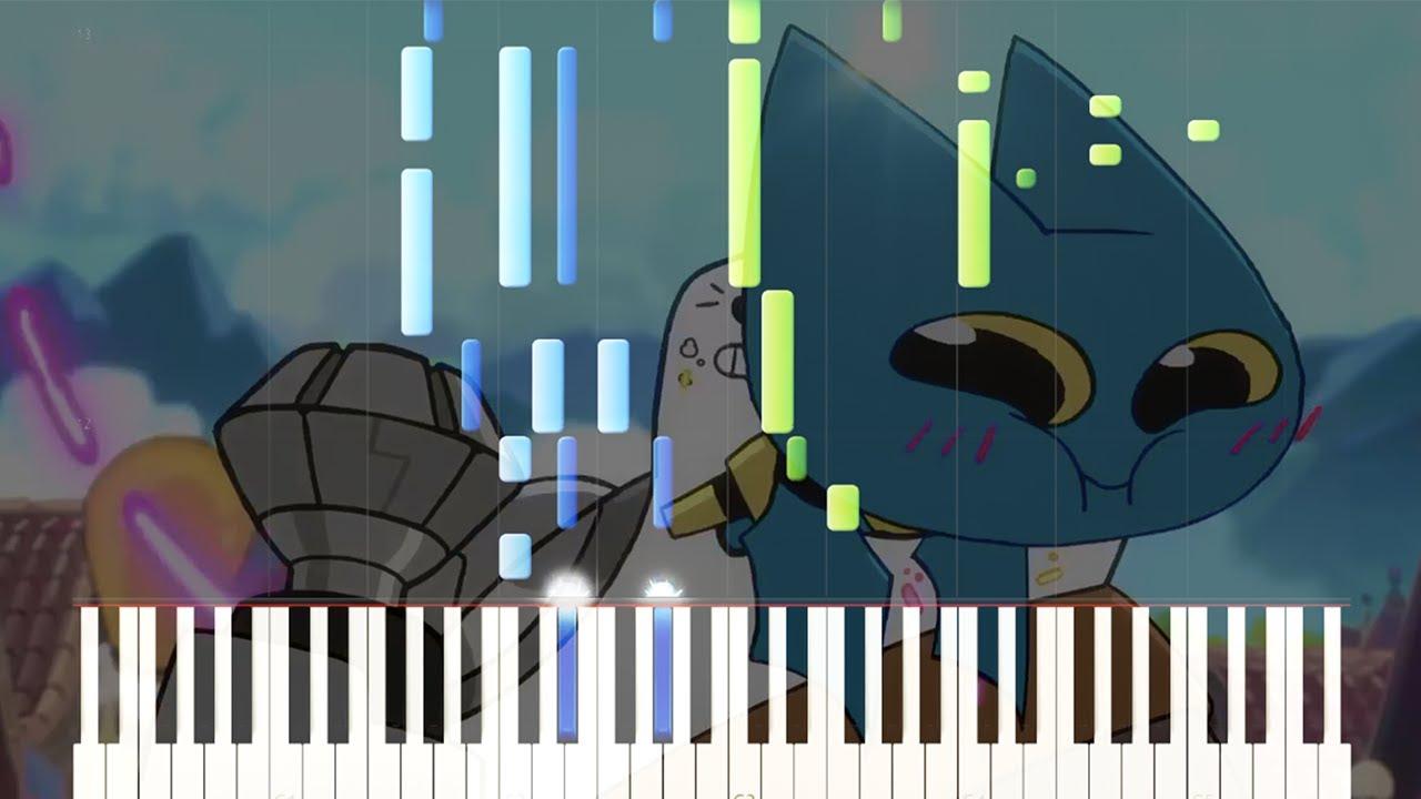 Mao Mao — Theme Song ❤ [Synthesia Piano Tutorial] ❤