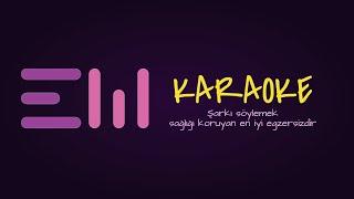 DUSEN BIR YAPRAK GORURSEN karaoke