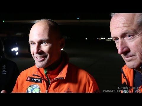 Bertrand Piccard, André Borschberg Full Press Conference - Solar Impulse - Mountain View