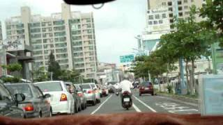 Driving in Tainan