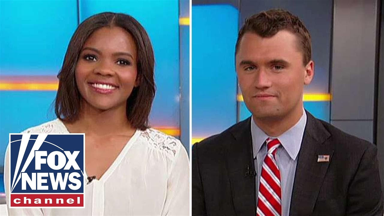 Image result for candace owens charlie kirk