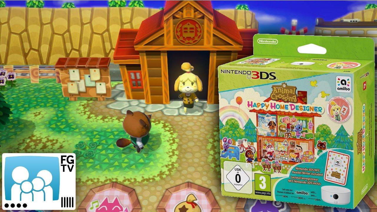 Animal Crossing Happy Home Designer Pegi 3 Youtube