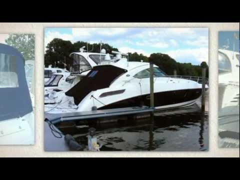 Sea Ray Sundancer Canvas Boat Cover - Save $$ - Factory Replacement SeaRay  Boat Cover