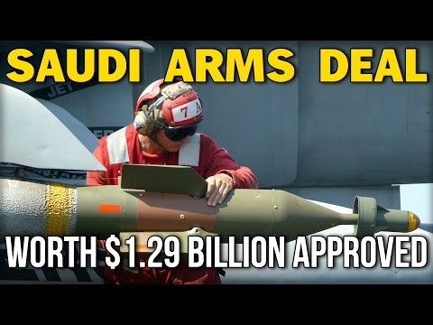 SAUDI ARMS DEAL WORTH $1.29 BILLION APPROVED