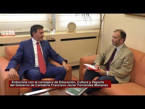 El Nuevo Curso Escolar con el Consejero Fernández Mañanes