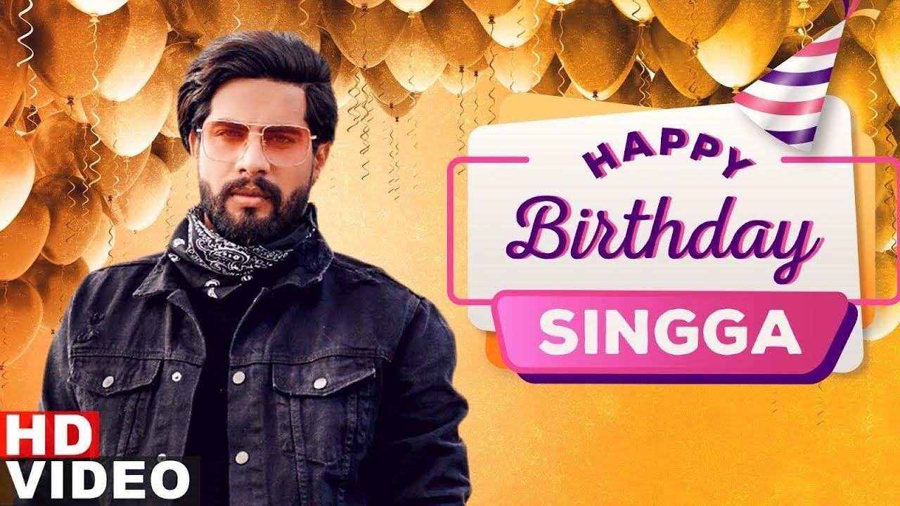 Birthday Wish | Singga | Birthday Special | Latest Punjabi Songs 2020 | Speed Records