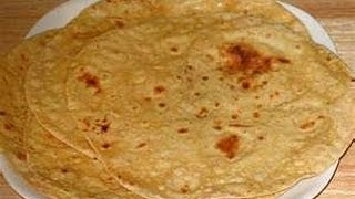 How To Make Roti, Chapati Flat Indian Bread