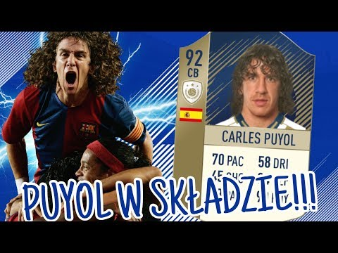 2 IKONY PRIME W MOIM SKŁADZIE !!! | CARLES PUYOL !!! | FIFA 18 ULTIMATE TEAM