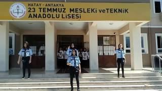 23 temmuz Anadolu meslek lisesi isaret dili ekibi