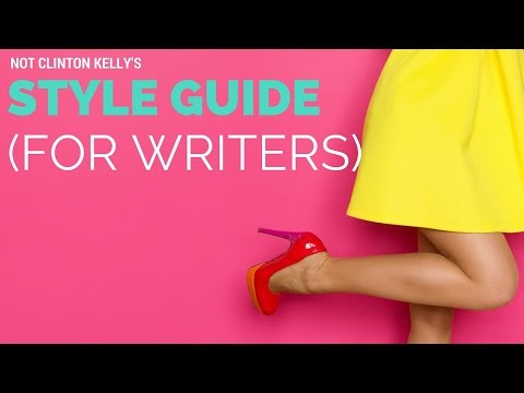 A Quick Guide to Style Guides (for Writers)