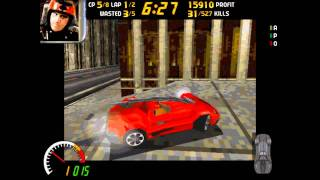 Carmageddon PC gameplay uncensored HD 720p - 1997 Stainless Games - intro trailer