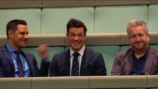 Romantischer Heiratsantrag im australischen Parlament
