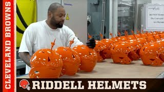 Inside: The Making of a Riddell Helmet