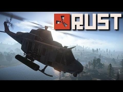 Rusticaland Server - How to take down the HELI ON FIRST DAY OF WIPE