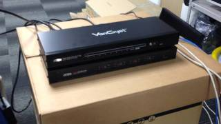 PC and iPad using with ATEN VM0404H VS1808T Video switch.