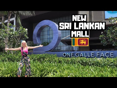 CRAZY New Shopping Mall in Sri Lanka! One Galle Face | Colombo