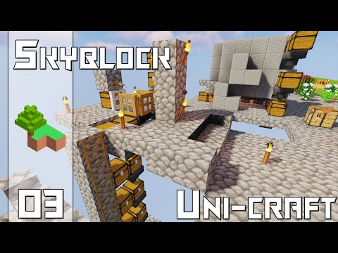 [Uni-Craft] : Skyblock - 03 - Fish & Cobble !