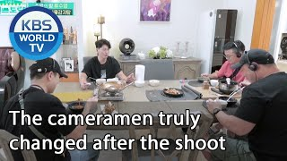 The cameramen changed after the shoot (Stars&#39 Top Recipe at Fun-Staurant)  KBS WORLD TV 201027