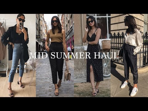 MID SUMMER HAUL   ZARA, TOPSHOP, H&M