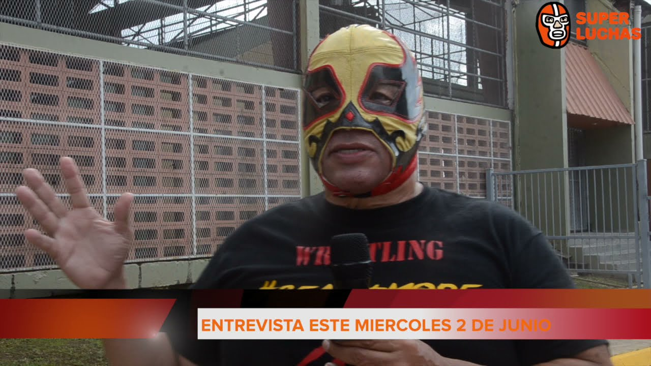 """El Profe: """"La IWA convirtió esta cancha en la meca de la Lucha Libre"""""""