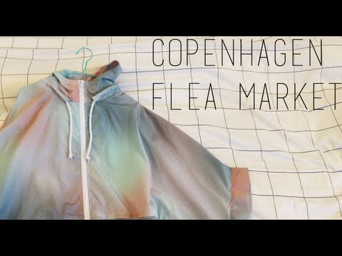 Flea Market Haul + Vlog! // Copenhagen Fashion Hunters