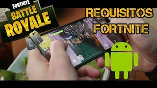 FORTNITE Android - Lista completa de requisitos mínimos ⚡ - Leo