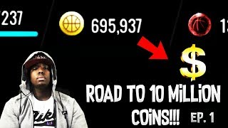 TURNING 100K INTO MILLIONS OF COINS ON NBA LIVE MOBILE 18!!! NO MONEY SPENT