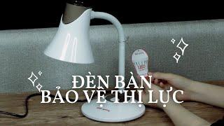 Đèn led để bàn làm việc, bàn học bảo vệ thị lực DKL15 Điện Quang