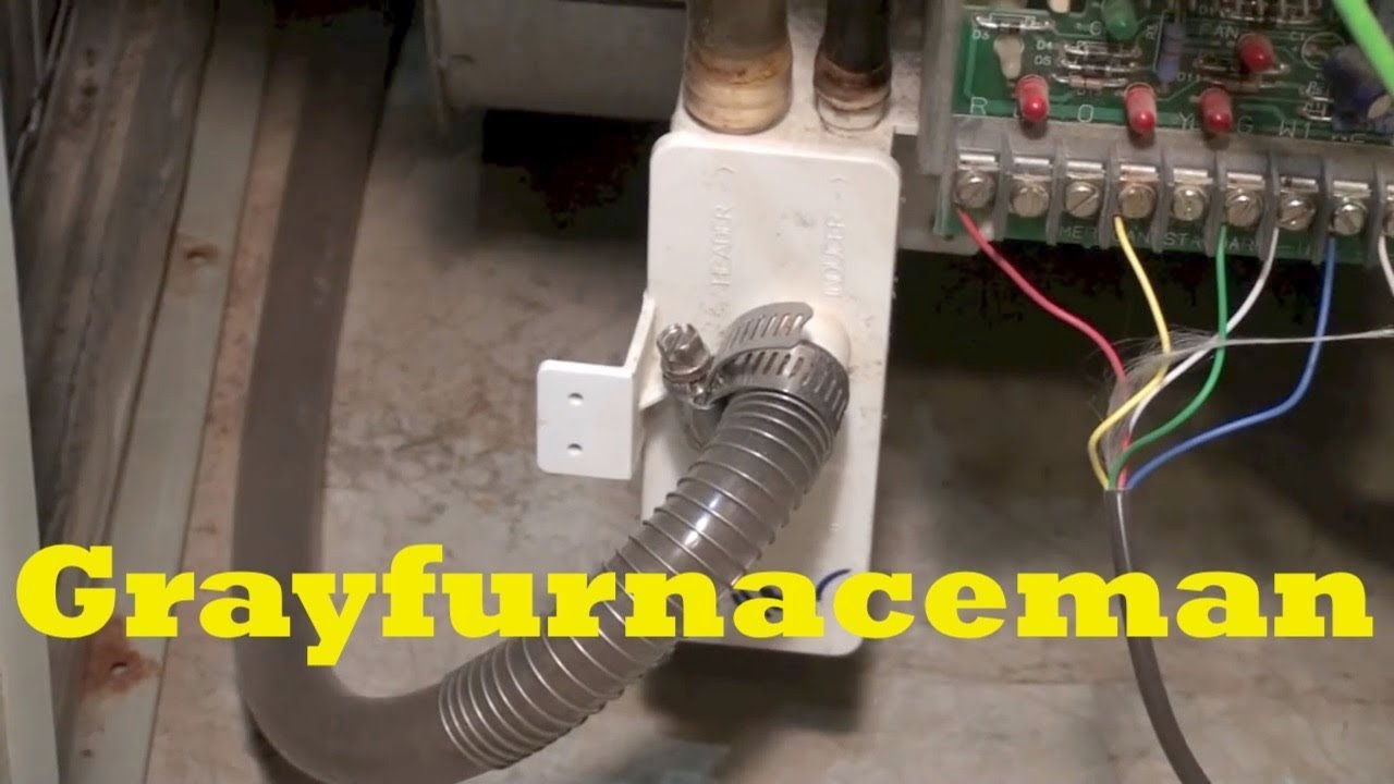 York Ac Wiring Diagram Furnace Condensate Drain Cleaning Youtube